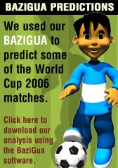 Download our WC2006 predictions using BaziGua